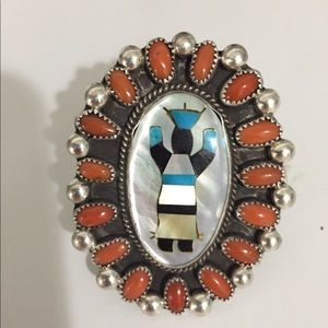 Jewelry - Vintage American Indian concho ring